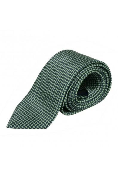 Brioni Men's Multi-Color 100% Silk Geometric Print Neck Tie