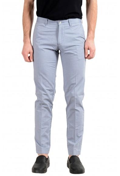 "Hugo Boss ""Crigan3-W"" Men's Gray Stretch Casual Pants"
