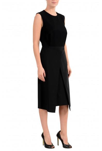 """Hugo Boss """"Delieta"""" Women's Wool Black Sleeveless Sheath Dress : Picture 2"""