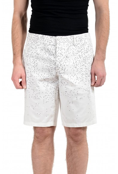 "Hugo Boss ""Liem4-Print1-W"" Men's Slim Stretch Casual Shorts"