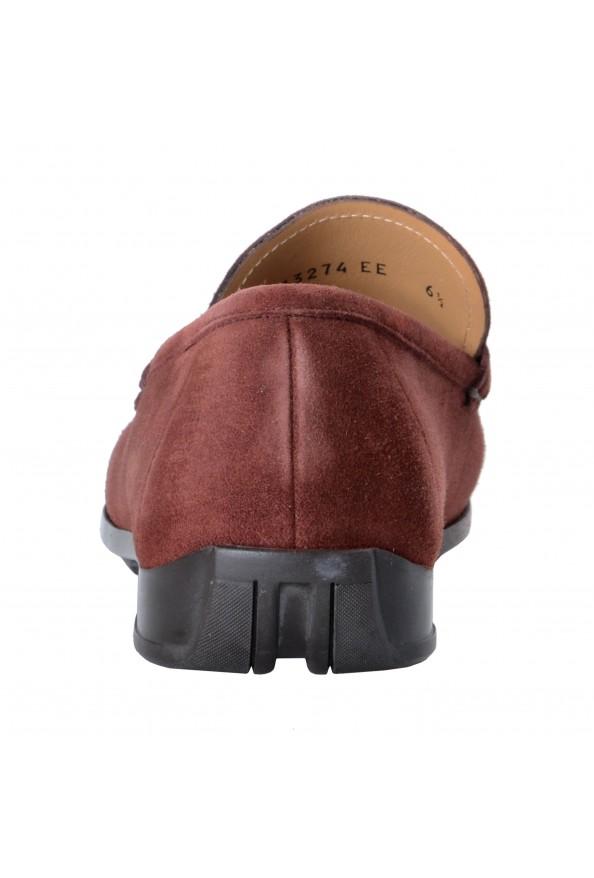 "Salvatore Ferragamo Men's ""GEROLAMO 5"" Brown Suede Leather Loafers Shoes: Picture 4"