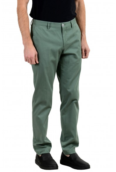 """Hugo Boss """"Stanino17-W"""" Men's Green Stretch Casual Pants : Picture 2"""