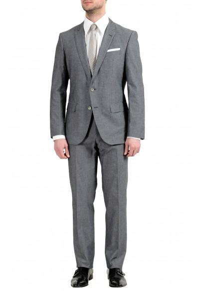 "Hugo Boss ""Hedson3/Gander1"" Men's Gray Stretch Two Button Suit"