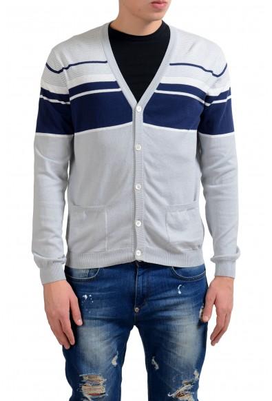Malo Men's Multi-Color Light Cardigan Sweater