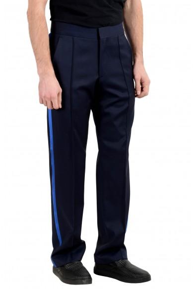 """Hugo Boss """"Fedo182FS"""" Men's 100% Wool Dark Blue Dress Pants: Picture 2"""
