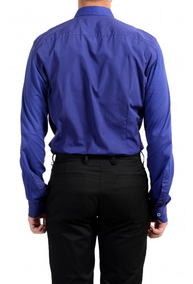 Malo Men's Purple Long Sleeve Dress Shirt: Picture 2