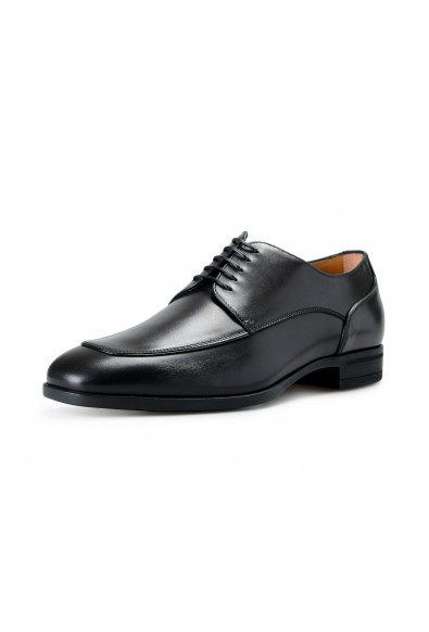 "Hugo Boss Men's ""Portland_Derb_Itap"" Black Leather Derby Shoes"