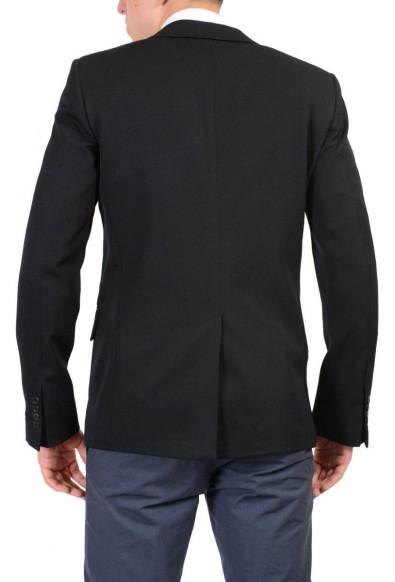 Prada 100% Wool Black Two Buttons Men's Blazer: Picture 2