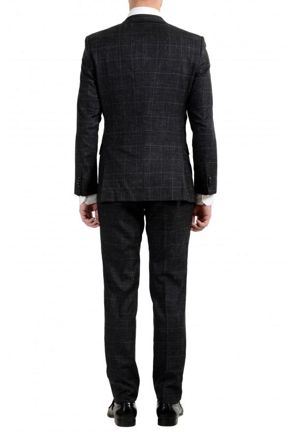 """Hugo Boss """"Huge6/Genius5"""" Men's Linen Silk Wool Slim Fit Gray Two Button Suit: Picture 2"""