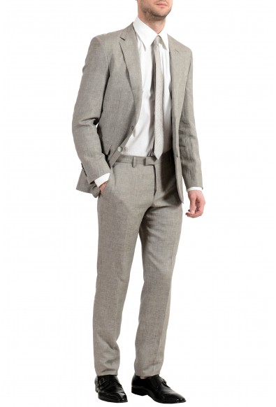 """Hugo Boss """"T-Harley/Goswin"""" Men's Linen Silk Wool Two Button Suit: Picture 2"""