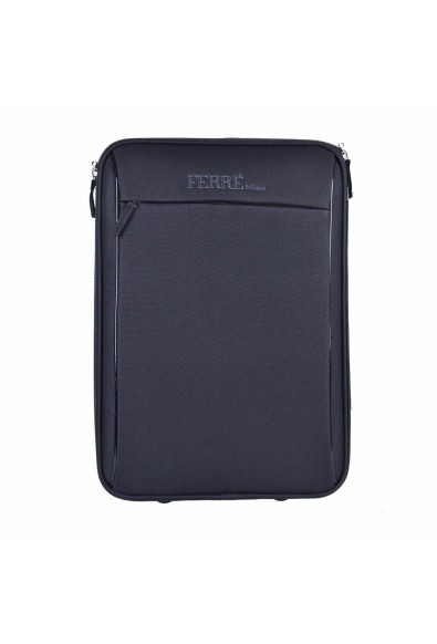 Gianfranco Ferre Milano Unisex Black Carry On Rolling Travel Suitcase Bag: Picture 2