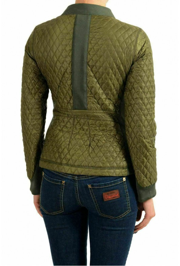 Moncler Women's MEITIN Green Quilted Light Jacket Windbreaker: Picture 3