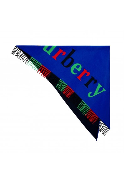 Burberry Wool Cashmere Multi-Color Shawl Scarf: Picture 2
