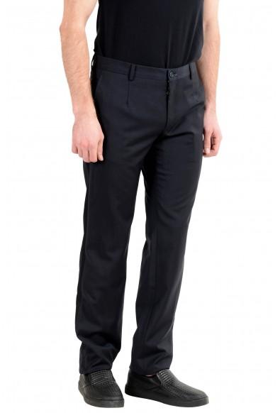 Dolce&Gabbana Men's 100% Wool Black Dress Pants : Picture 2