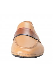 """Salvatore Ferragamo Men's """"FLORIDA"""" Light Brown Leather Loafers Slip On Shoes: Picture 6"""