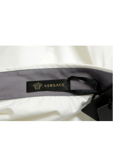Versace Men's White Long Sleeve Dress Shirt: Picture 2