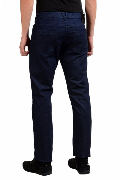 Versace Collection Men's Blue Stretch Classic Straight Leg Jeans US 32 IT 48: Picture 2