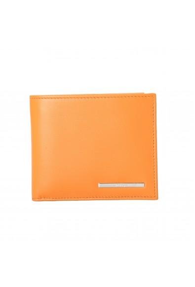Salvatore Ferragamo Men's Yellow 100% Leather Bifold Wallet