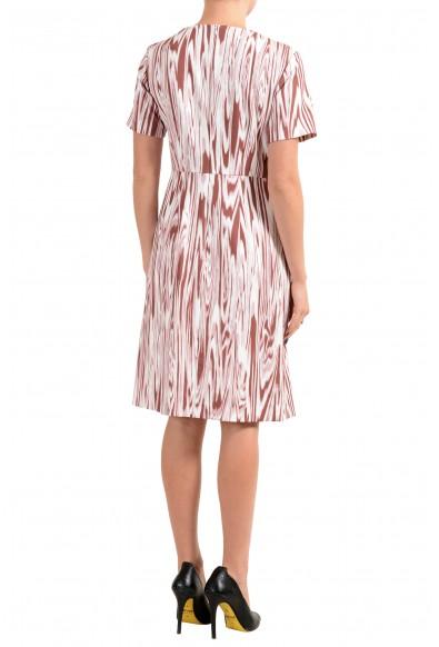 "Hugo Boss ""Daprinta"" Women's Patterned Short Sleeve Sheath Dress: Picture 2"