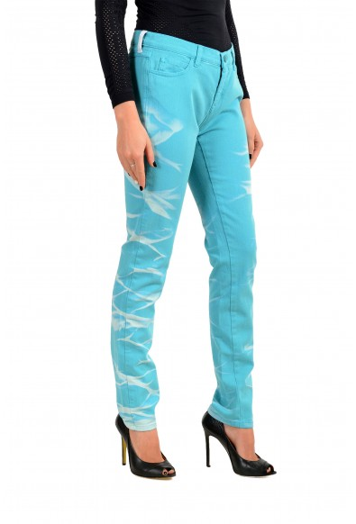 Maison Margiela MM6 Women's Blue Slim Jeans: Picture 2