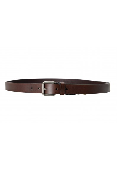 Burberry Men's Brown Leather Belt : Picture 2