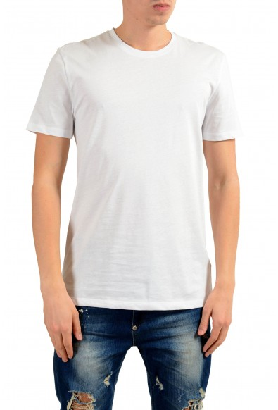 Versace Collection Men's White Graphic Print T-Shirt