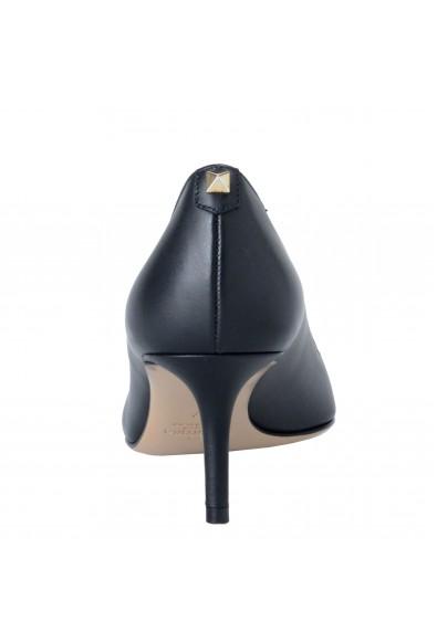 Valentino Garavani Women's Black Leather Classic Heeled Pumps Shoes: Picture 2