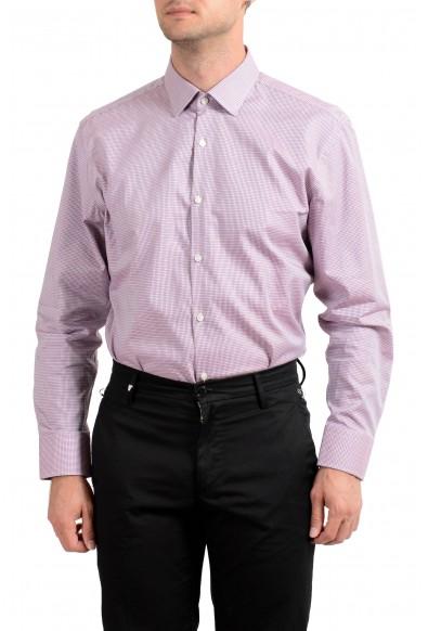 "Hugo Boss Men's ""Marley US"" Sharp Fit Plaid Long Sleeve Dress Shirt: Picture 2"