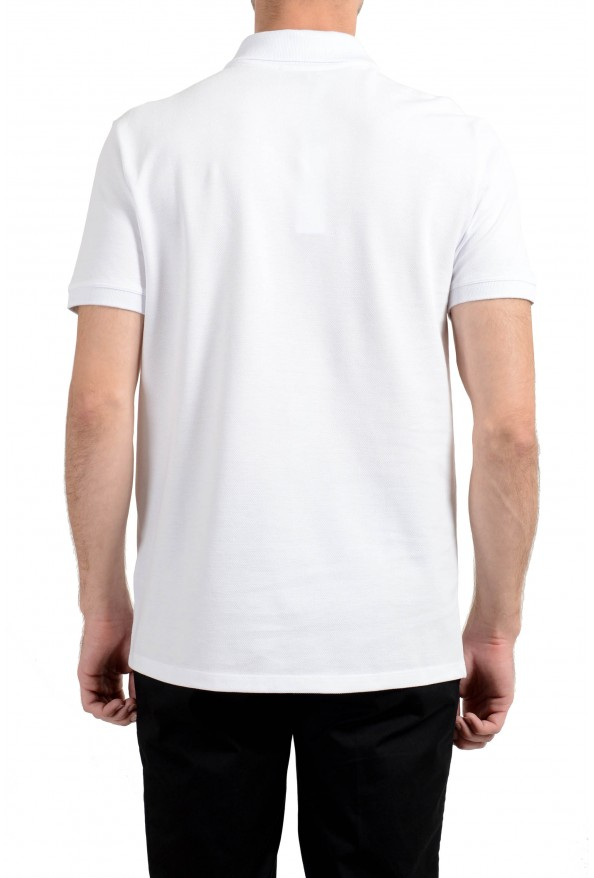 Versace Collection Men's White Short Sleeve Polo Shirt: Picture 3