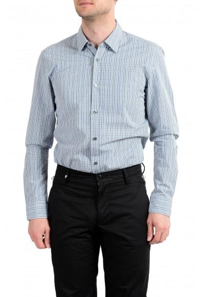 "Hugo Boss Men's ""Ronni_53"" Slim Fit Plaid Long Sleeves Casual Shirt"
