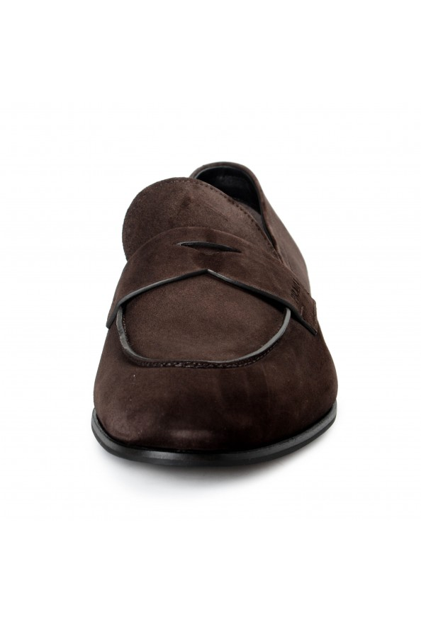 """Prada Men's """"2DB185"""" Brown Suede Leather Loafers Slip On Shoes: Picture 4"""