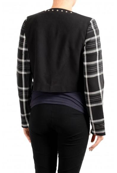 Just Cavalli Women's Multi-Color Wool Full Zip Jacket: Picture 2