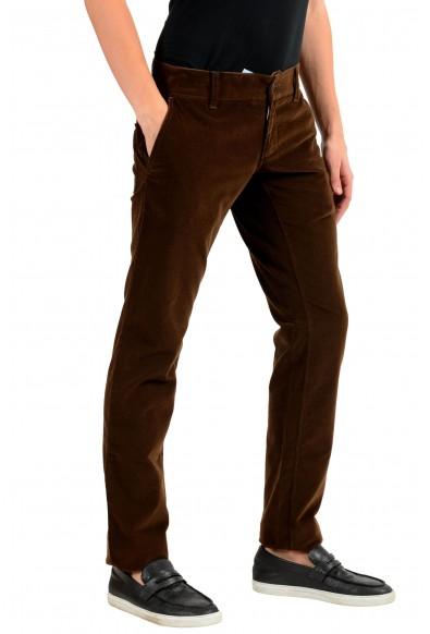 Dolce & Gabbana Men's Brown Corduroy Casual Pants: Picture 2