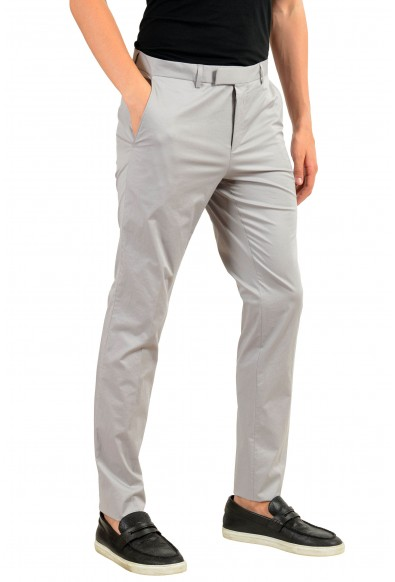 """Hugo Boss """"Heiron"""" Men's Gray Stretch Casual Pants : Picture 2"""