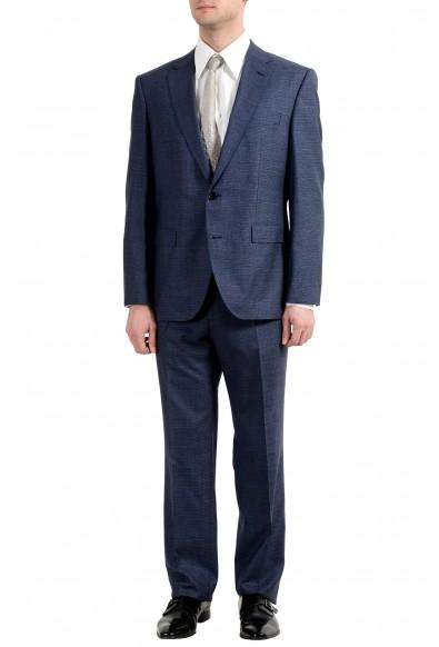 "Hugo Boss ""Phoenix/Madisen"" Men's 100% Wool Comfort Fit Blue Two Button Suit"