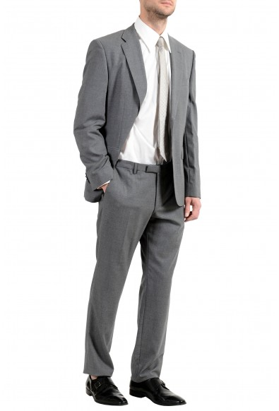 """Hugo Boss """"Jets4/Lenon1"""" Men's 100% Wool Gray Two Button Suit: Picture 2"""