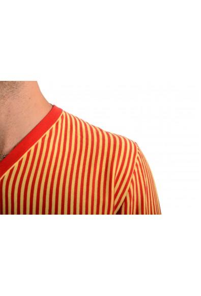 Kiton Napoli Men's Striped V-Neck Pullover Sweater : Picture 2