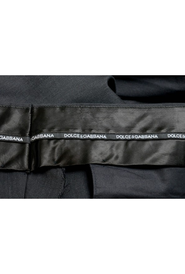 Dolce & Gabbana Men's Wool Charcoal Dress Pants: Picture 4