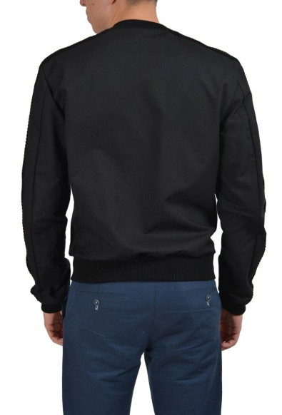 Dolce & Gabbana Black Full Zip Men's Basic Jacket : Picture 2