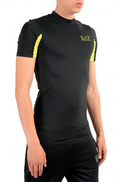 "Emporio Armani EA7 ""Tech M"" Men's Black High Neck T-Shirt: Picture 2"