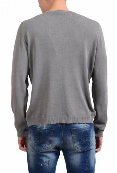 Malo Men's Gray Crewneck Sweater: Picture 2