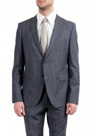 "Hugo Boss ""Reymond/Wenten"" Men's 100% Wool Two Button Suit: Picture 9"