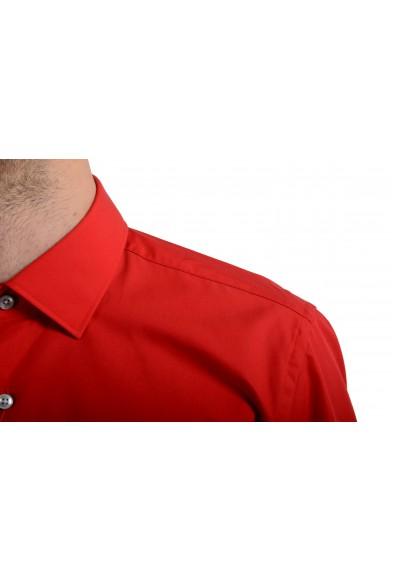 """Hugo Boss """"C-Jenno"""" Men's Red Slim Long Sleeve Dress Shirt: Picture 2"""