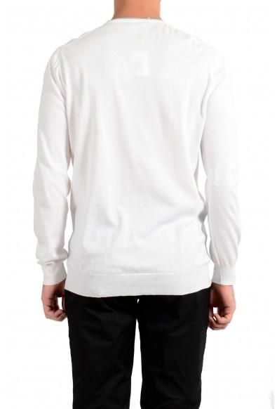 Kiton Napoli Men's White Crewneck Pullover Sweater : Picture 2
