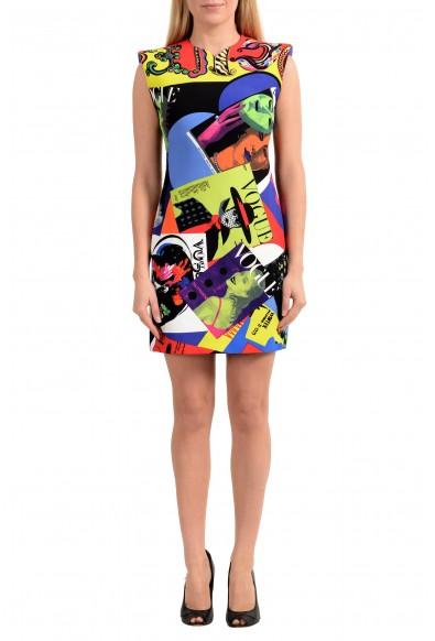 Versace Women's TRIBUTE Multi-Color Sheath Mini Dress