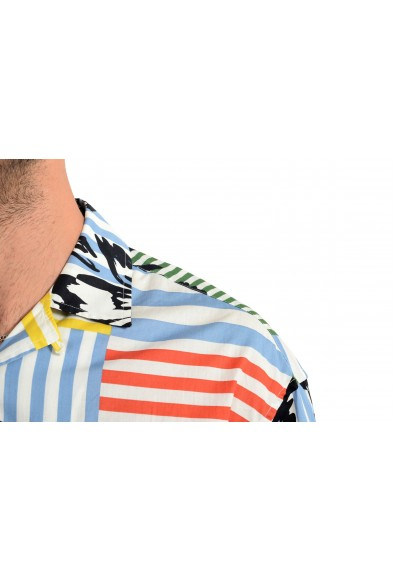 """Burberry Men's """"HARLEY"""" Multi-Color Graphic Print Short Sleeve Shirt: Picture 2"""