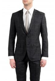 """Hugo Boss """"Huge6/Genius5"""" Men's Linen Silk Wool Slim Fit Gray Two Button Suit: Picture 9"""