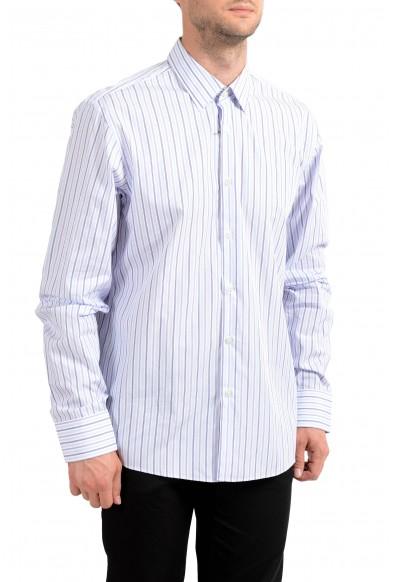"Hugo Boss Men's ""Gulio US"" Regular Fit Striped Long Sleeve Shirt"
