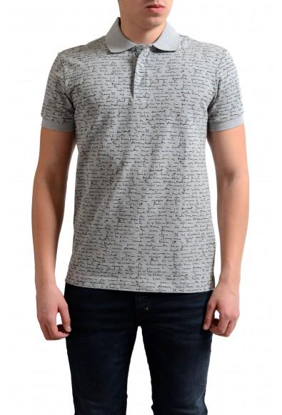 Dior Men's Multi-Color Short Sleeve Polo Shirt