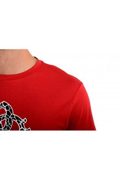 "Roberto Cavalli ""Beachwear"" Men's Red Graphic Print T-Shirt: Picture 2"